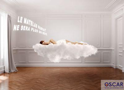 Photographe publicitaire matelas belge oscar