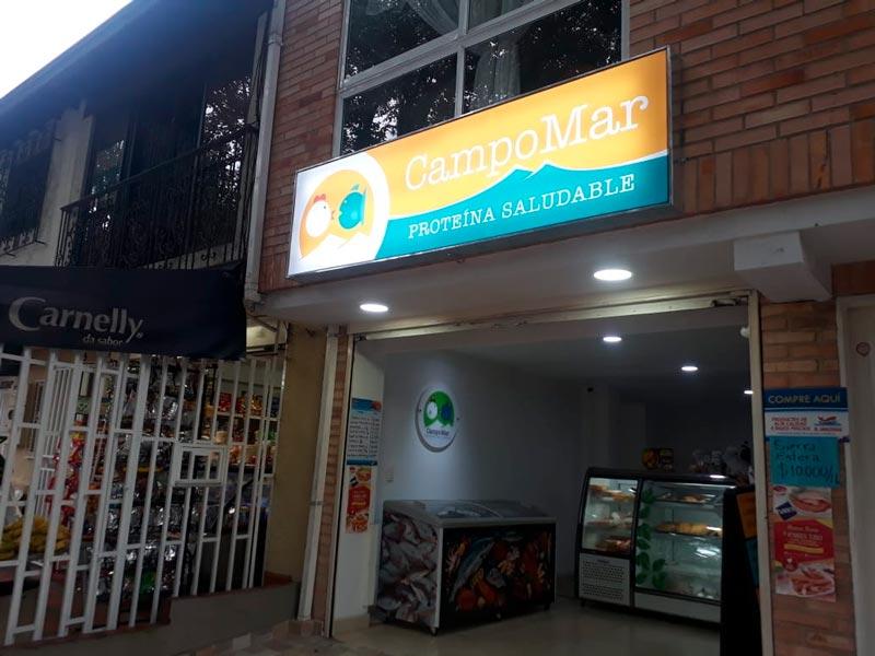 Avisos Luminosos publicitarios en Medellín