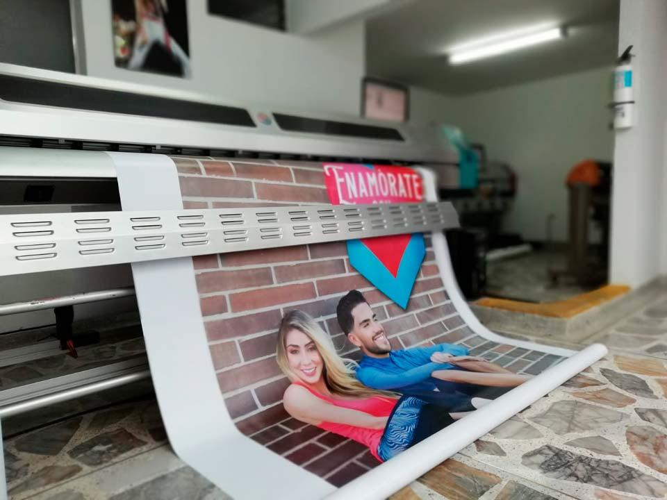 Servicios de impresión digital a gran formato