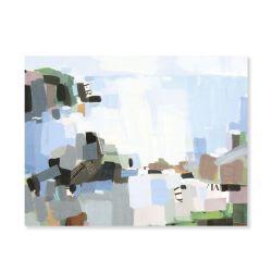 """Rocas"". R. Varona. 70x55 cm. Acrílico sobre lienzo"