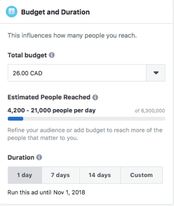 Facebook offers a number of options for users trying to promote their pages.