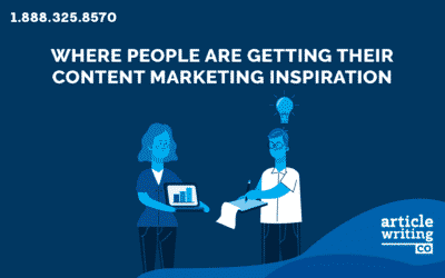 Where People Are Getting Their Content Marketing Inspiration