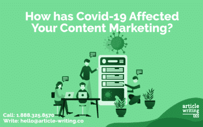 How has Covid-19 Changed Your Content Marketing?