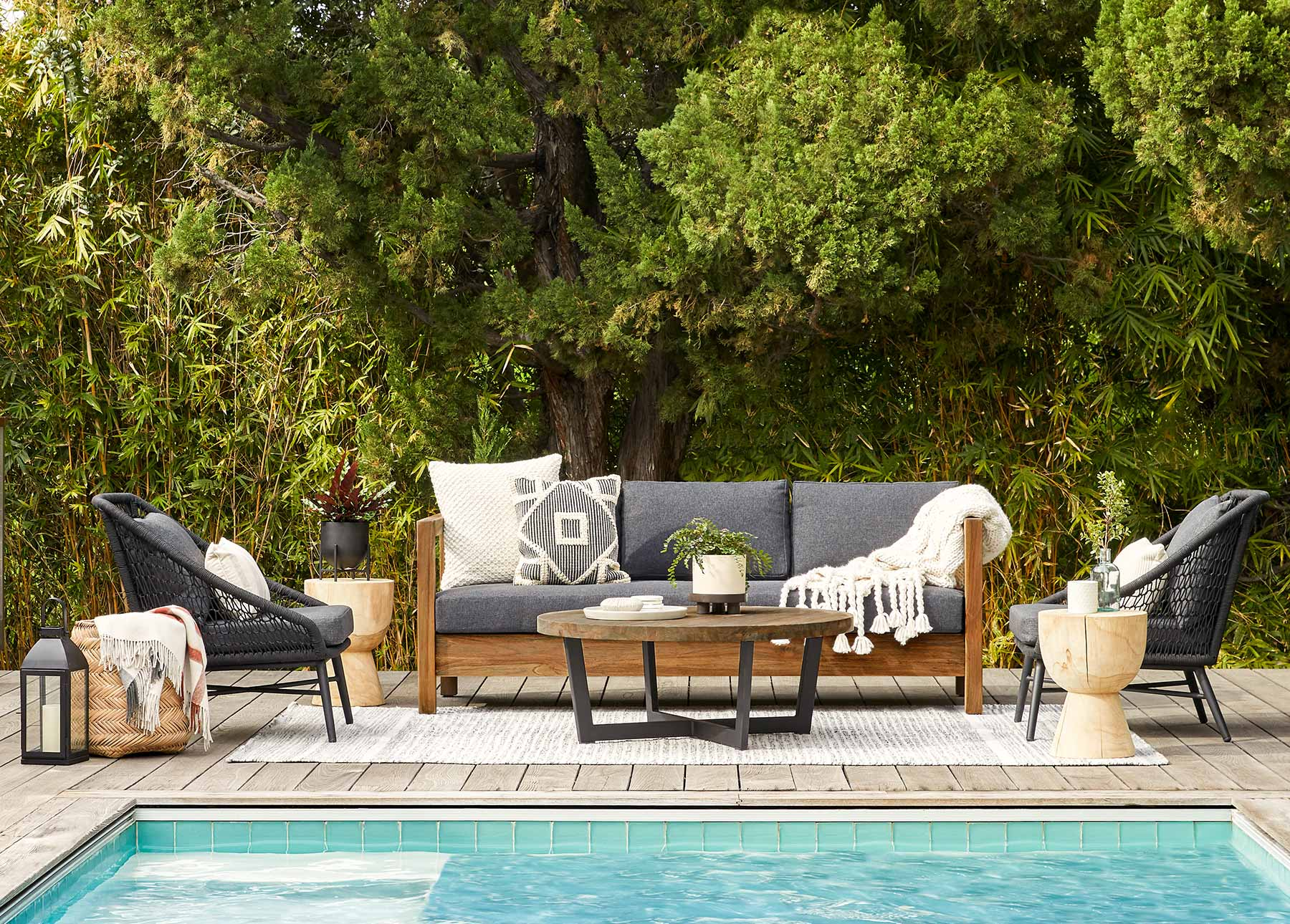 clean and store outdoor furniture