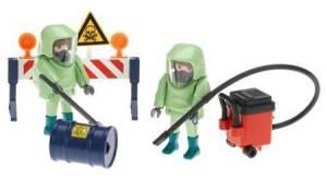 Craziest Vintage Toys: Playmobil hazmat crew.
