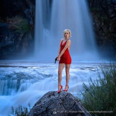 white river falls oregon female assassin