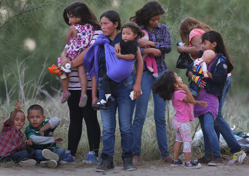 The Boarder Crisis: Families immigrating
