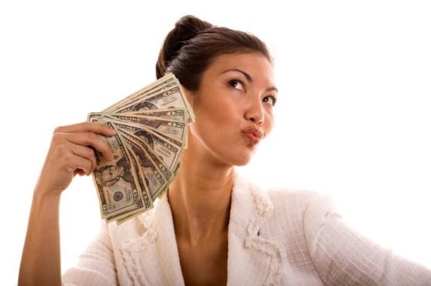 fanning money