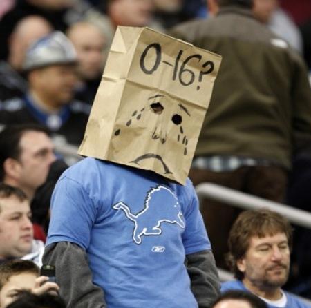 2008 Detroit Lions fan