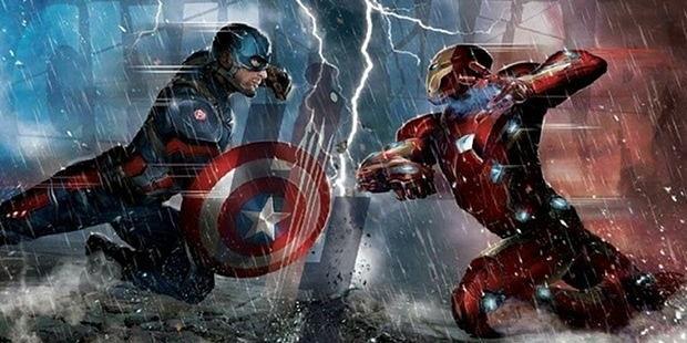 Captain America Civil War artwork