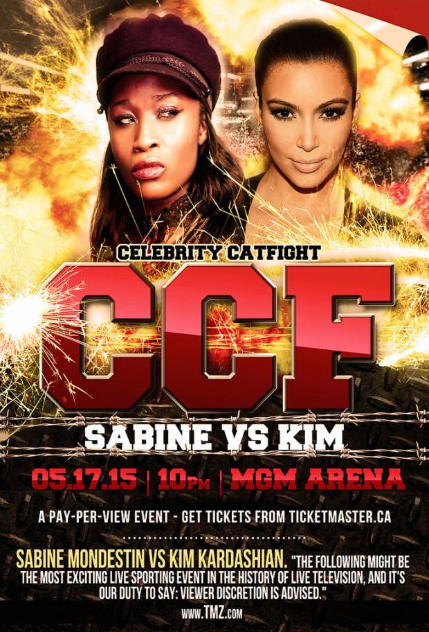 movie drinking games: Celebrity Catfight Kardashian poster