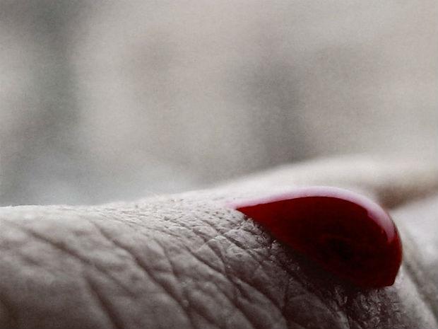 Photo: Blood drop