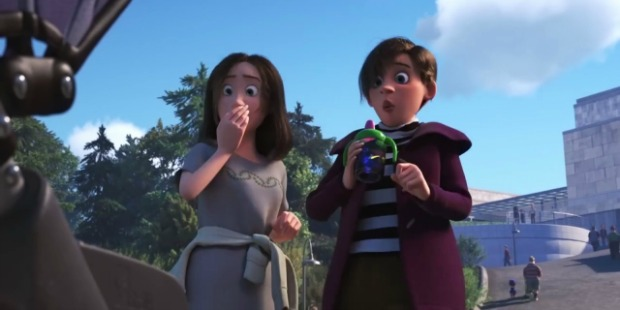 Way To Go Pixar…First Lesbian Couple