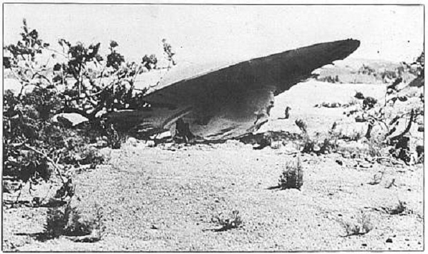 THE ROSWELL CRASH: UFO Down