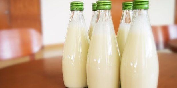 Photo of milk jars