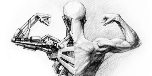 Human augmentation half human, half machine