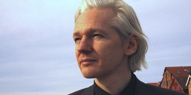 Photo of WikiLeaks founder Julian Assange