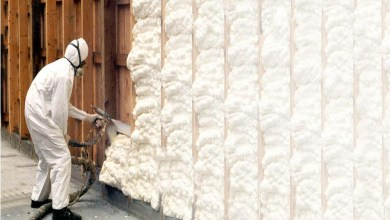 Photo of PU Spray foam insulation in Pakistan
