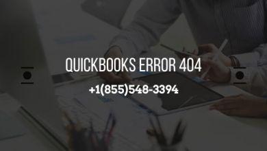 Photo of QuickBooks Error 404 – Page Not Found