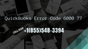 Photo of QuickBooks Error 6000 77
