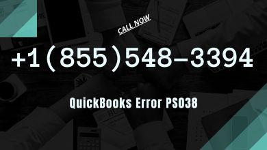 Photo of QuickBooks Error Code PS038