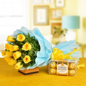 Yello flower delivery in Indore