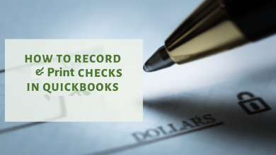 Photo of How to Record and Print Checks in QuickBooks?
