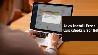 Photo of QuickBooks Java install Error 1601 – Fix Update, Install Error
