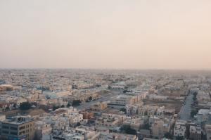 Riyadh aerial view