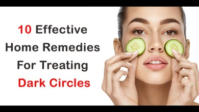 Photo of 10 Effective Home Remedies for treating Dark circles!!!