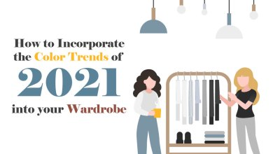 Photo of Incorporate the Color Trends of 2021 into your Wardrobe