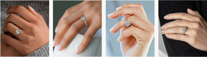 moissanite ring online