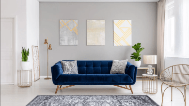 Photo of Santorini Gray Vintage Flora Rug – Beautiful Art Deco Piece Or Decorative Piece For Your Home