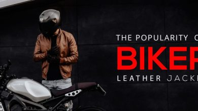 Photo of THE POPULARITY OF BIKER LEATHER JACKET:
