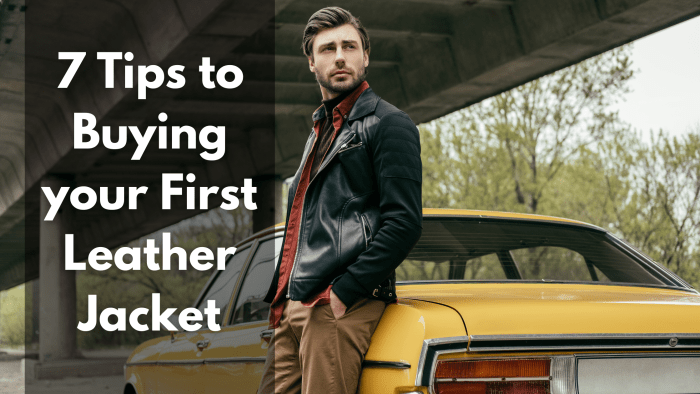 7 Tips to Buying your First Leather Jacket