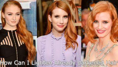 Photo of How Can I Lighten Already darkened Hair?