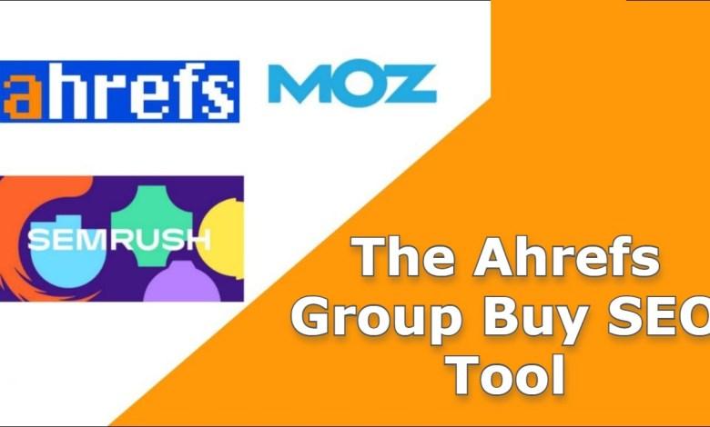 The Ahrefs Group Buy SEO Tool