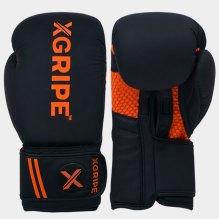 black/orange boxing glovesd image