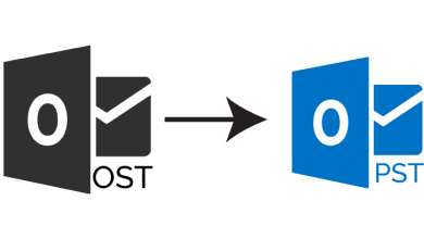 export IMAP OST to PST