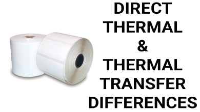 Photo of What is the Difference Between Direct Thermal and Thermal Transfer Labels?