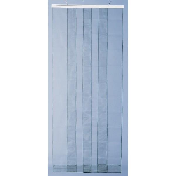 rideau de porte moustiquaire arles 4 bandes 100x220 cm morel