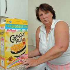 Kellogg's Surprises Grandmother With Disgusting Prize In Box Of Crunchy Nut Cereal