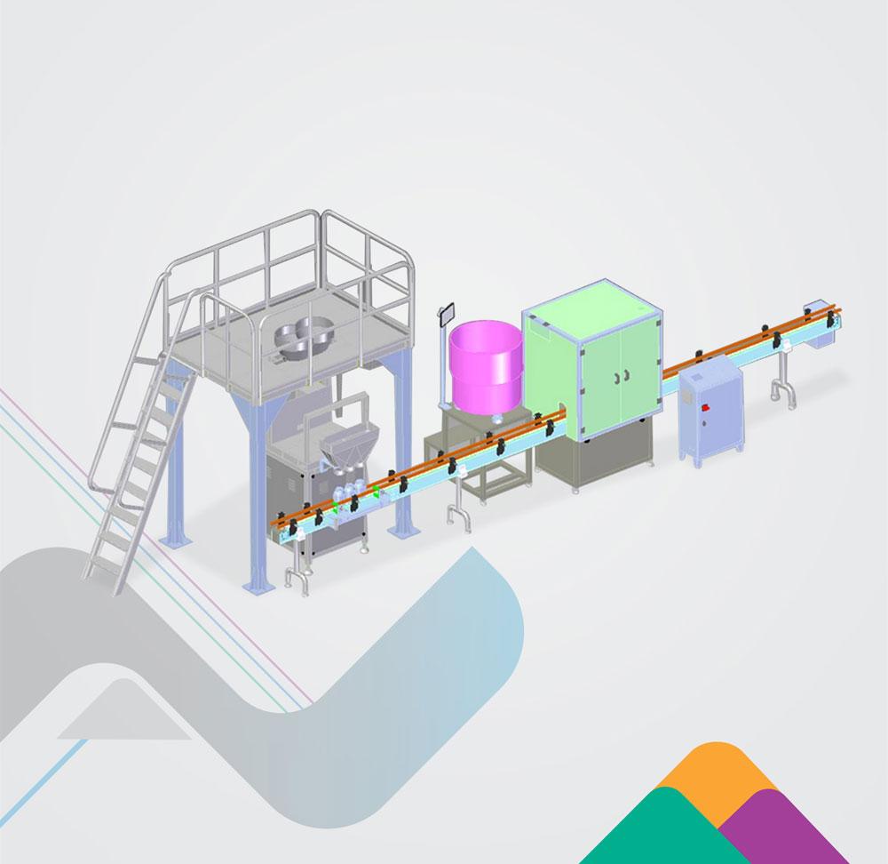 Packaging Systems Bottle Filling Line Liquids