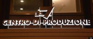 Centro di produzione LA7 in Via Novaro