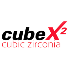 cube x2 cubic zirconia