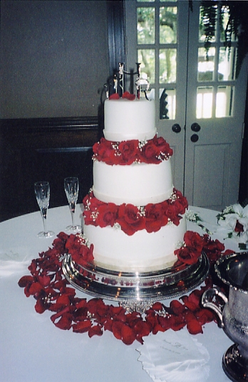 The Wedding Cake :: My brothers wedding :: Jefferson Island, LA