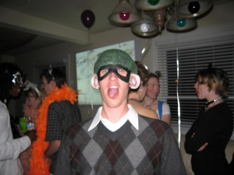 Making a Fool of Myself at the Masquerade Party :: Denver, Colorado
