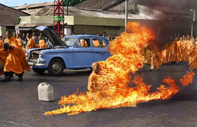 Burning Monk Thích Quảng Đức