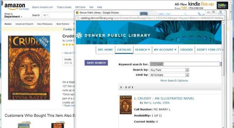 Denver Public Library Lookup Extension