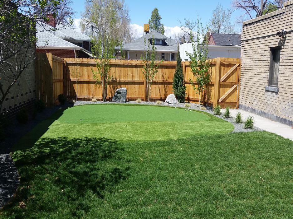Synthetic Turf Magnolia, Texas Design Ideas, Small ... on Turf Backyard Ideas id=15372